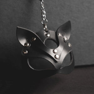 Kitty mask - keychain
