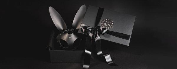 Maska zajíčka v dárkovém balení
